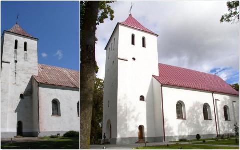 2010 m.  Žagarės Šv. Apaštalo Petro ir Povilo bažnyčia. (PRIEŠ ir PO)
