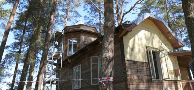 2016-05-24. Atgyja tarpukario laikų Kačerginės vilos